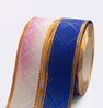 23. Ribbon 2 golden stripes mesh