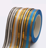 3. Ribbon 2 golden stripes