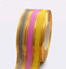 7. Ribbon 2 golden stripes mesh
